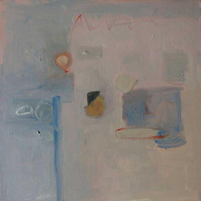 olieverf op doek / 2012<br>30 x 30 cm