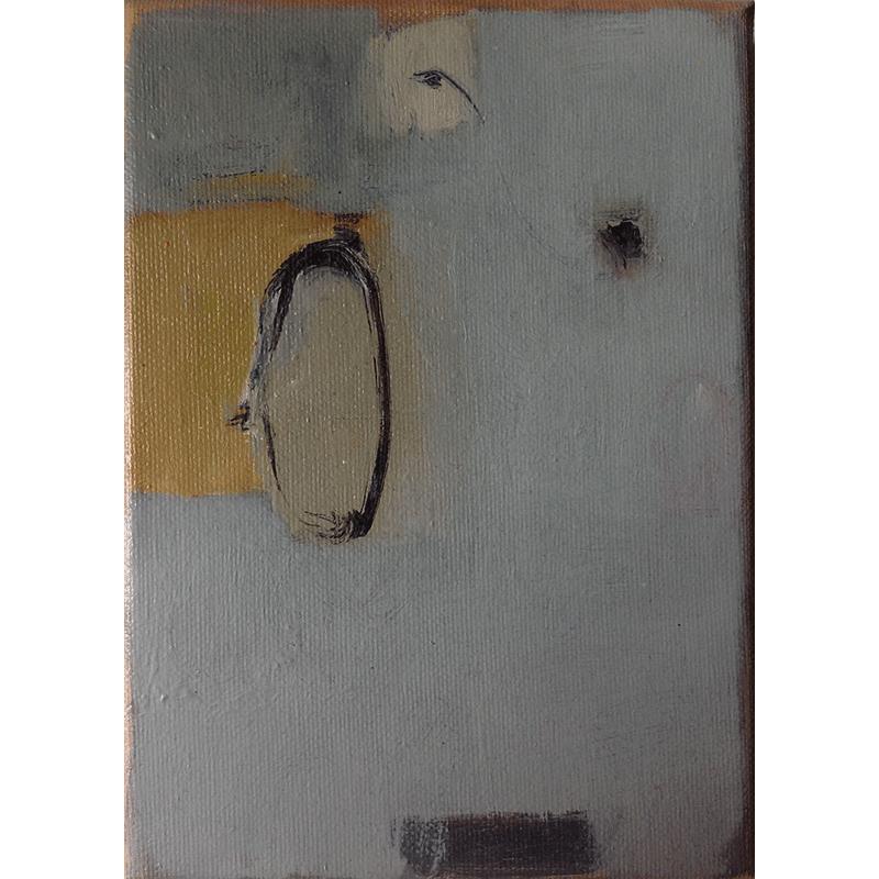 olieverf op doek / 2013<br>13 x 18 cm