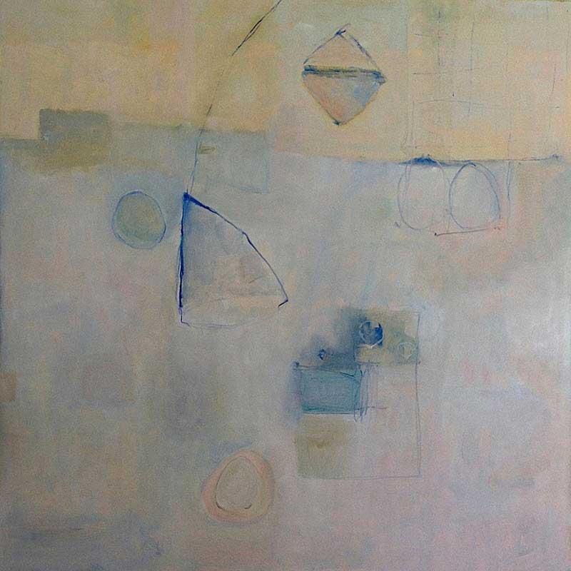 olieverf op doek / 2013<br>100 x 100 cm