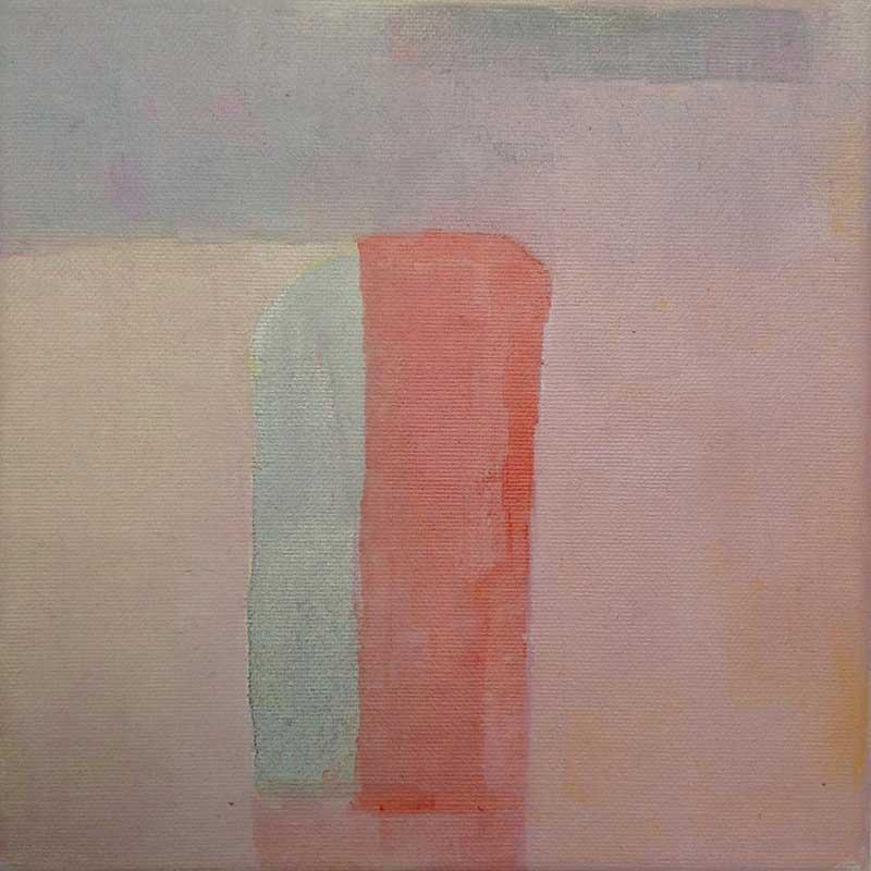 olieverf op doek / 2011<br>20 x 20 cm
