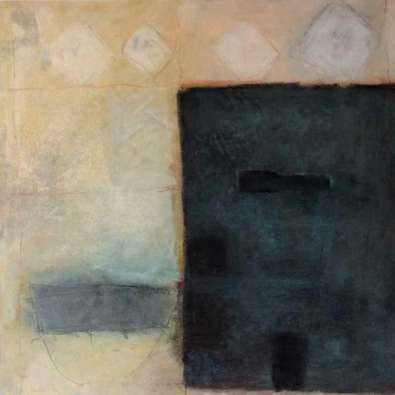 pastelkrijt op papier / 2011<br>50 x 50 cm