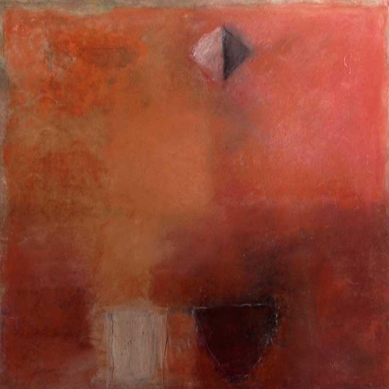 pastelkrijt op papier /  2011 - 2012<br>40 x 40 cm