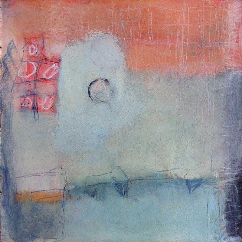 pastelkrijt op papier /  2013<br>25 x 25 cm
